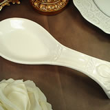 Couture Line Ceramic Spoon Rest