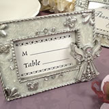 Angel Placecard Frame - White Epoxy