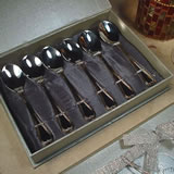 6Pc Stainless Demi Spoons - Dorato Design