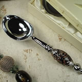 Murano Design Ice Cream Scoop - Damask