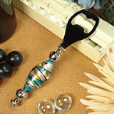 Murano Design Multi Stripe Bottle Opener
