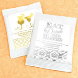 Metallic Foil Mango Margarita Favors