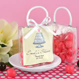 Personalized Mini Gift Tote Favor - Heart
