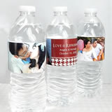 Photo Water Bottle Labels (Set of 5)