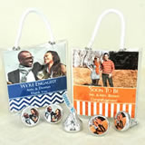 Photo Hershey's Kisses Mini Gift Tote Favors