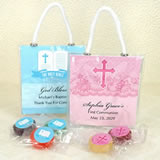 Religious Life Savers Candy  Mini Gift Tote Favors