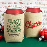 Holiday Can Cooler