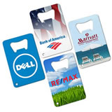 Custom Corporate Stainless Steel Credit Card Bottle Openers