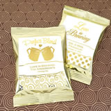Metallic Foil Coffee Favors (Gold)