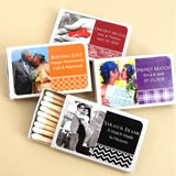 Photo Matches - Set of 50 (White Box)