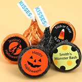Halloween Colored Foil Hershey�s Kisses