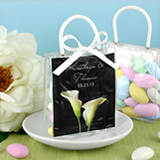 Personalized Mini Gift Tote Favor - Flower