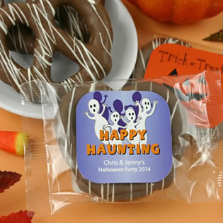 Halloween Gourmet Chocolate Pretzel