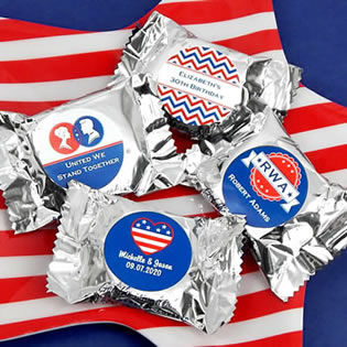 Patriotic YORK Peppermint Patties
