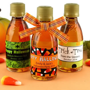 Halloween Maple Syrup