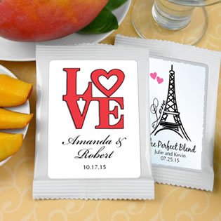 Mango Margarita Favors: Heart Theme