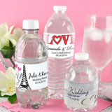Personalized Water Bottle Labels (Set of 5)