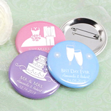 "Personalized Buttons-Silhouette Collection (2.25"")"