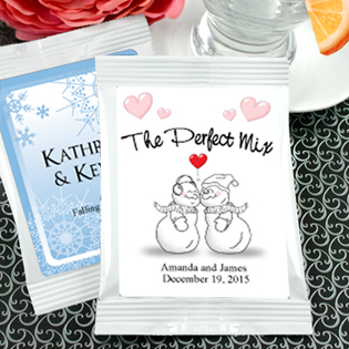 Winter Designs Strawberry Daiquiri Favors