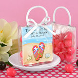 Personalized Mini Gift Tote Favor - Beach