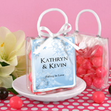 Personalized Mini Gift Tote Favor: Winter