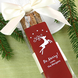 "1.5"" X 4.25"" Rectangular Holiday Label"