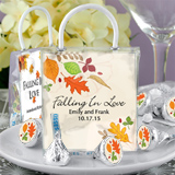 Fall Designs Hershey®'s Kisses® Mini Gift Tote Favors