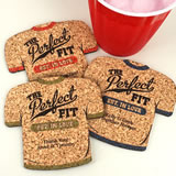 Personalized T-Shirt Cork Coaster