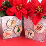 Holiday Wooden Magnets