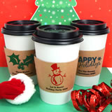 Holiday Insulated Cup Sleeves
