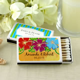 Personalized Matches - Set of 50 (White Box): Unique Designs