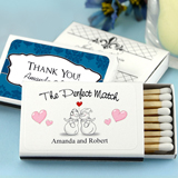 Personalized Matches - Set of 50 (White Box): Winter Designs