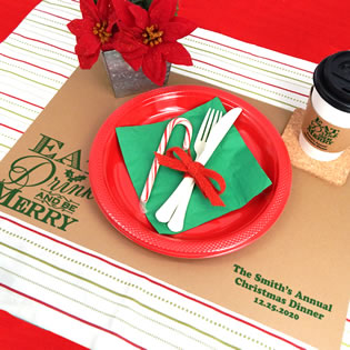 Holiday Kraft Placemats