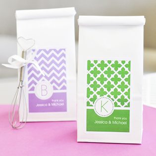 MOD Pattern Monogram Sugar Cookie Mix