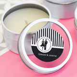 MOD Pattern Theme Round Candle Tins