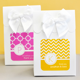 Sweet Shoppe Candy Boxes - MOD Pattern Monogram
