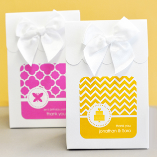 MOD Pattern Theme Sweet Shoppe Candy Boxes