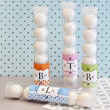 Mod Monogram Personalized Candy Tubes