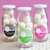 MOD Pattern Monogram Milk Bottles