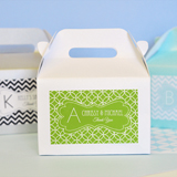 MOD Pattern Monogram Mini Gable Boxes (Set of 12)