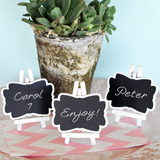 Framed Chalkboard Place Cards