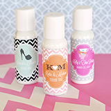 Personalized Theme Lotion