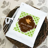 Fall for Love Personalized Hot Cocoa and Optional Heart Whisk