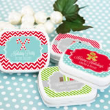 A Winter Holiday Mint Tins