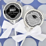 Hats off to You Personalized Graduation Lollipop Favors
