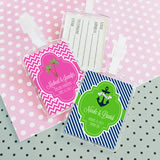 Theme Acrylic Luggage Tags