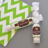 Fall for Love Personalized Candy Tubes