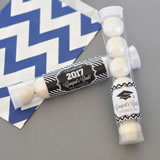 Hats off to You Personalized Graduation Candy Tubes