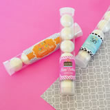 Birthday Personalized Candy Tubes