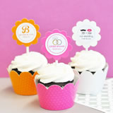 Theme Cupcake Wrappers & Cupcake Toppers